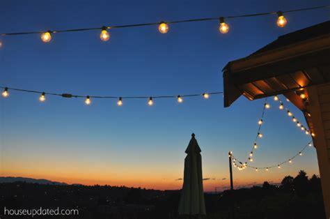 Diy Posts For Hanging Outdoor String Lights