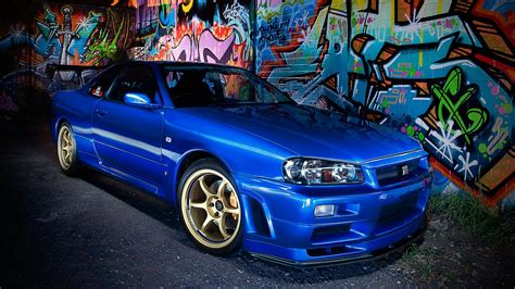 Nissan Skyline R34 Wallpaper Handy