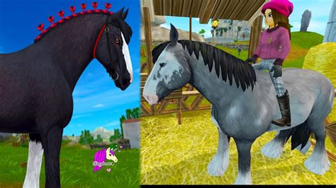stable star clydesdale horse horses roleplay stables buying