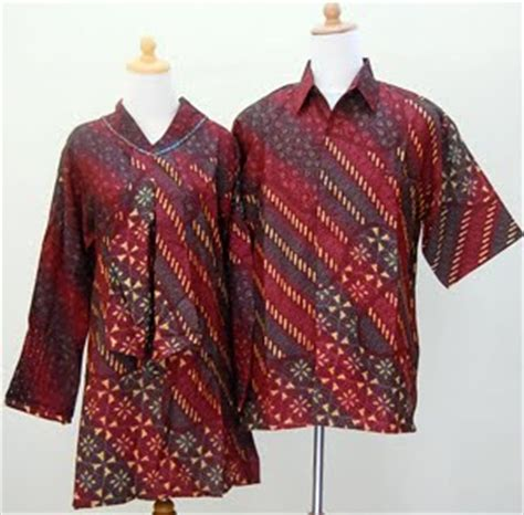 model baju batik modern model trend 2014 lengkap wanita design bild