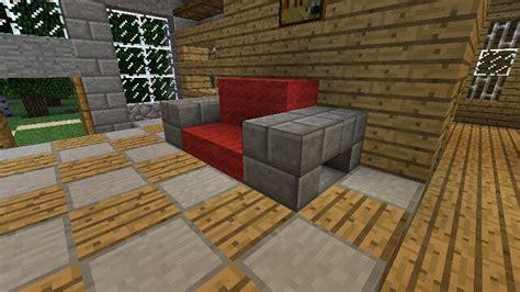minecraft couch build ideas minecraft furniture