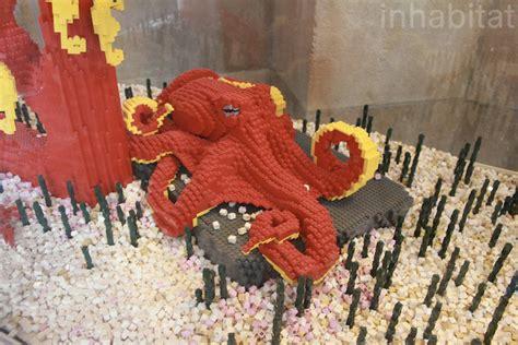 lego animals invade  bronx zoo bronx zoo lego octopus