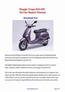 Download Piaggio Vespa Et4