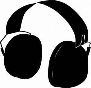 Headphones Clip Art at Clker.com - vector clip art online ...