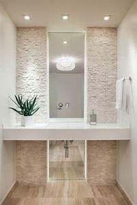 comment choisir le luminaire pour salle de bain With salle de bain couleur lin