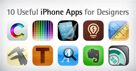 10 Most Useful Iphone Apps For Designers