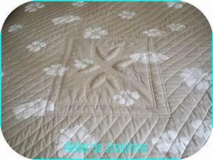 Dessus De Lit Boutis : couture dessus de lit style boutis le blog atelier de jos phine ~ Teatrodelosmanantiales.com Idées de Décoration