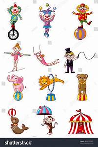 Cartoon Circus Stock Vector 66553087 - Shutterstock