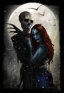 Jack and Sally - Nightmare Before Christmas Photo ...