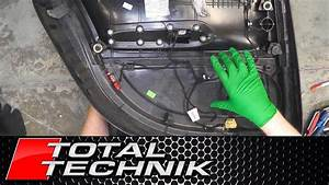 How To Remove Door Card Wiring Loom  Rear