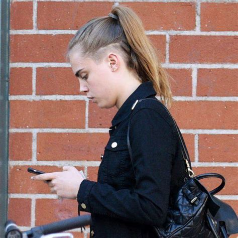 Cara Delevingne Low Maintenance Hairstyle   MyStyleBell