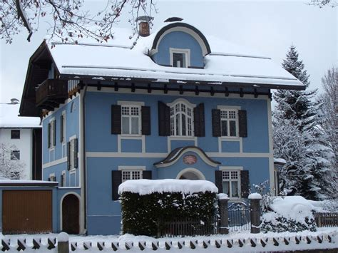 Ferienwohnung Im Blauen Haus  Dg, Oberbayern, Garmisch