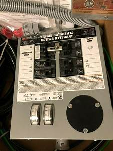 Generac 6294 Manual Transfer Switch For Portable Generators
