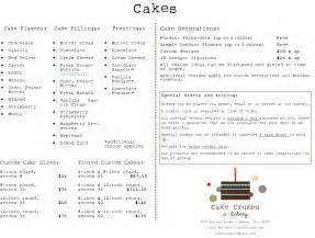 Photo Contact Sheet Template Cake Menus With Pricing Pictures To Pin On Pinsdaddy