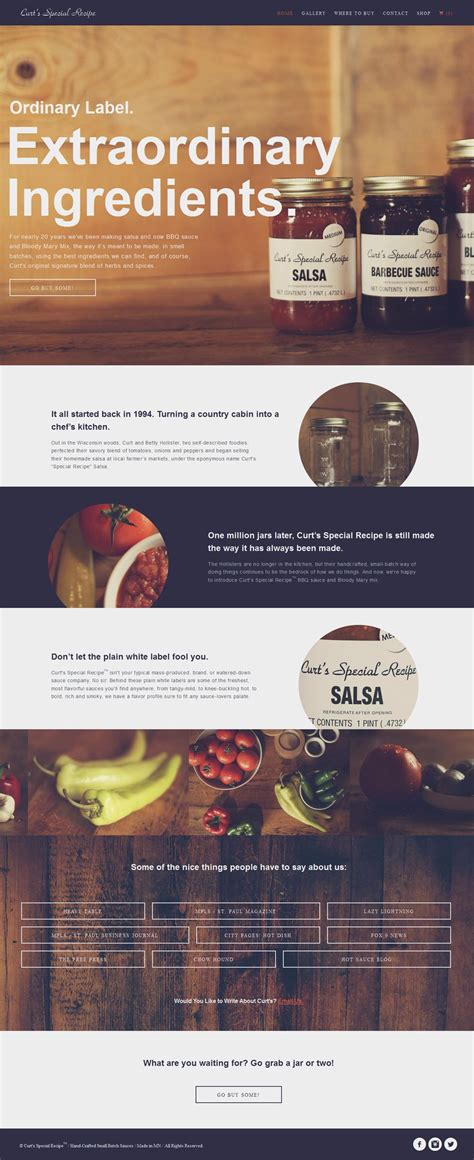 curts special recipe good content  web