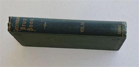greyhound 1892 stud volume dog eveslage ramsey angela antiques fine