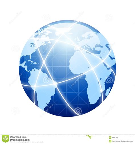 earth networking royalty  stock photography image