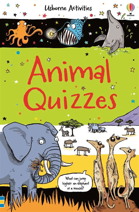 animal quizzes  usborne books  home