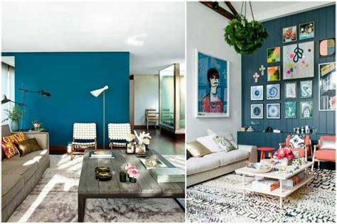 chambre gris et bleu osez une déco couleur bleu canard dans votre intérieur