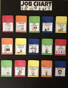 Attendance Chart For Preschool The 25 Best Job Chart Ideas On Pinterest Kids Job Chart
