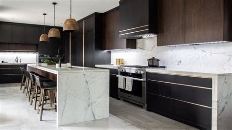 Luxe Dark & Modern Kitchen