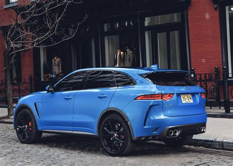 Jaguar F-pace Svr Approaches Super Suv Status With 542hp