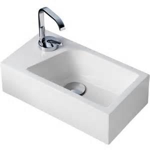 design wasserhahn mini waschbecken für gäste wc mit armatur carprola for