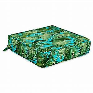 Outdoor deep seat cushion in back bay ocean bed bath for Bed bath beyond gel seat cushion