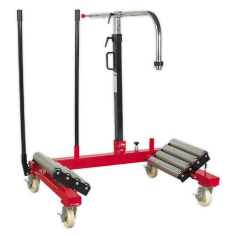 sealey w1200t wheel removal trolley 1200kg capacity wheel removal trolley sealey w1200t 1200kg capacity
