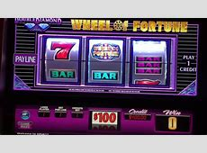 $100 Wheel Of Fortune LIVE PLAY JACKPOT HANDPAY High Limit