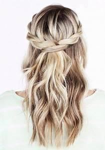 Coiffure Mariage Invitée : coiffure mariage invite cheveux mi long ~ Melissatoandfro.com Idées de Décoration