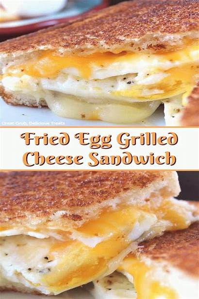 Sandwich Cheese Grilled Egg Fried Breakfast Recipes