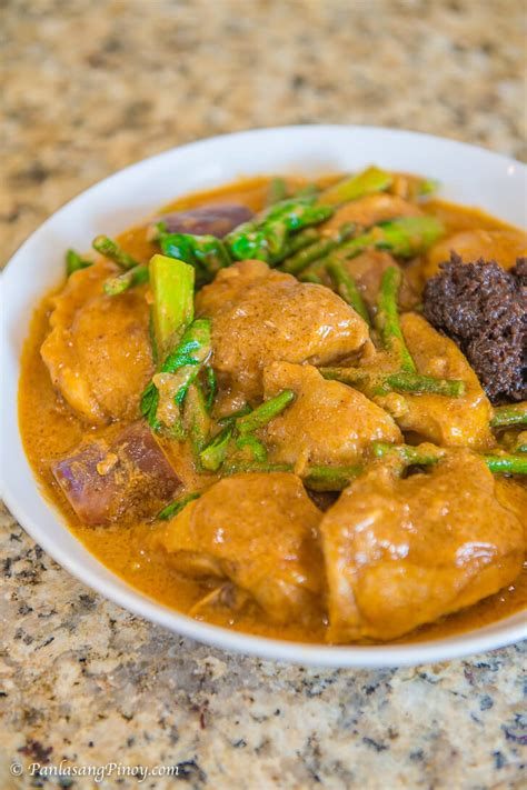 kare chicken filipino recipe pinoy panlasang philippines sauce peanut recipes tagalog food oxtail batchoy tripe butter beef dishes stew mix