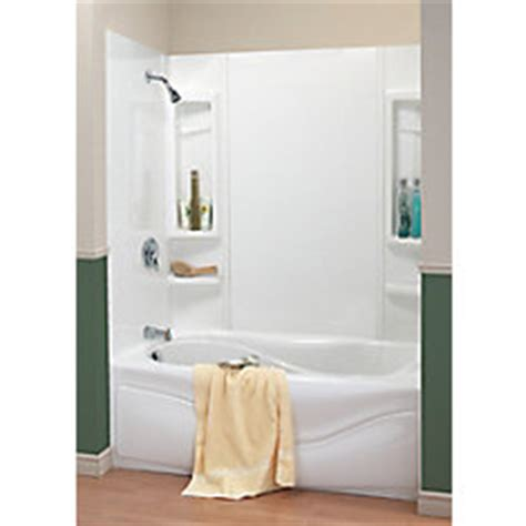 maax 59 panama tub wall kit the home depot canada