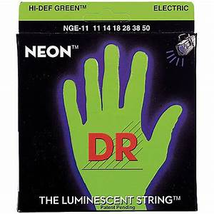 DR Neon Green Heavy Electric Guitar Strings