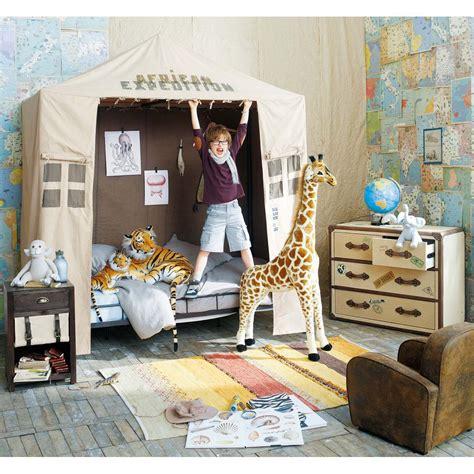Safari Themed Bedroom by Enfants Ideas For Room Camere Da