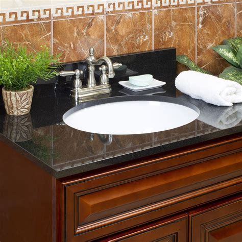 Top Granite by Absolute Black Granite Vanity Tops