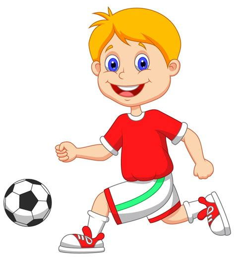 playing cartoon cartoon football player images cliparts co