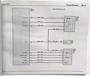 2013 Ford Escape Electrical Wiring Diagrams Manual