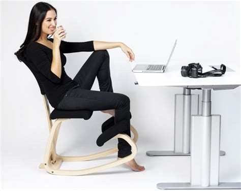 si鑒e assis genoux siège de bureau varier variable avec dossier espace du dos