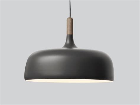 buy the northern lighting acorn pendant grey at nest co uk