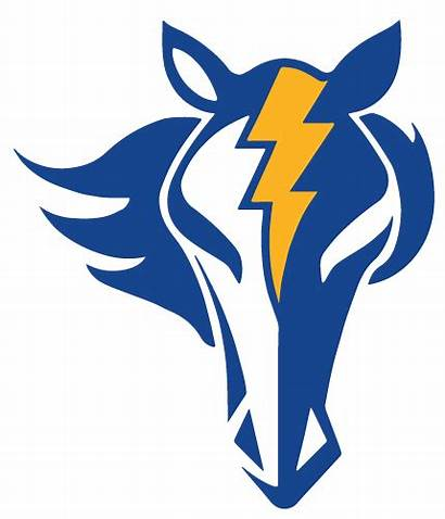 Mascot Charger Oxford Chargers Clipart Interscholastic Accredited