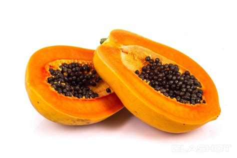 how to cut a papaya kitchen hack how to cut a papaya