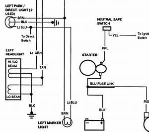 Free Headlight Wiring Diagram For 1991 Gmc Sierra K1500