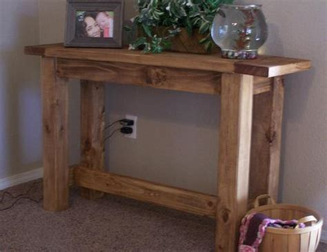 ana white tryde console table diy projects