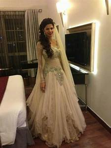 east meets west fusion bridal gown by kamaali south asian With indian fusion wedding dress