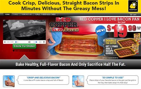 red copper  love bacon pan review   work freakin reviews