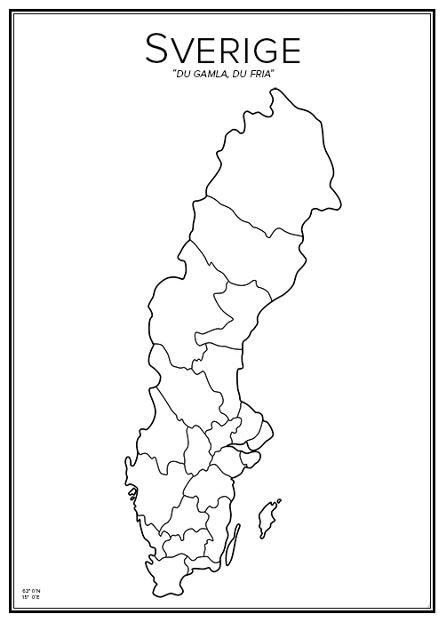 Sverige karta | Pearltrees