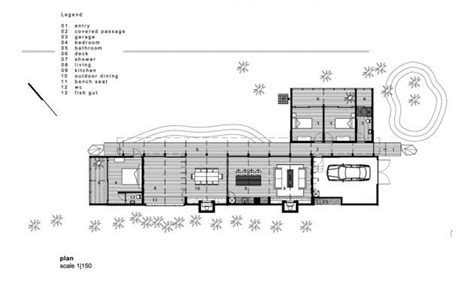 compson bach herbst architects simple floor plans shaped houses beach house plan