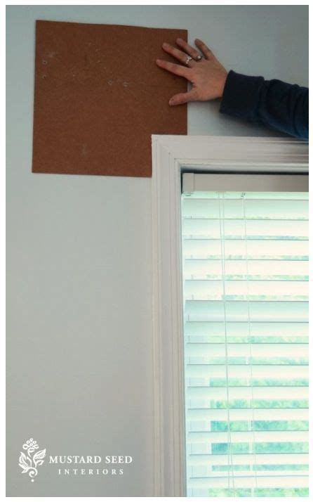 hang  curtain rod easy tip